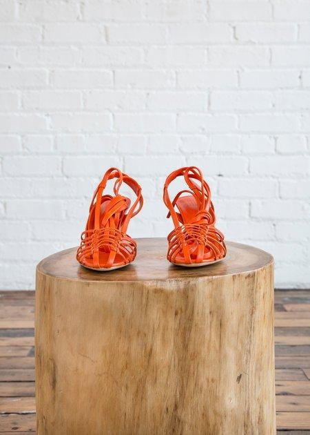 Maryam Nassir Zadeh Marabel Sandal - Flame Calf