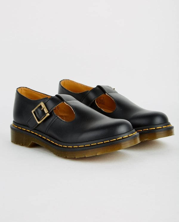 Dr. Martens POLLEY T-BAR MARY JANE - BLACK