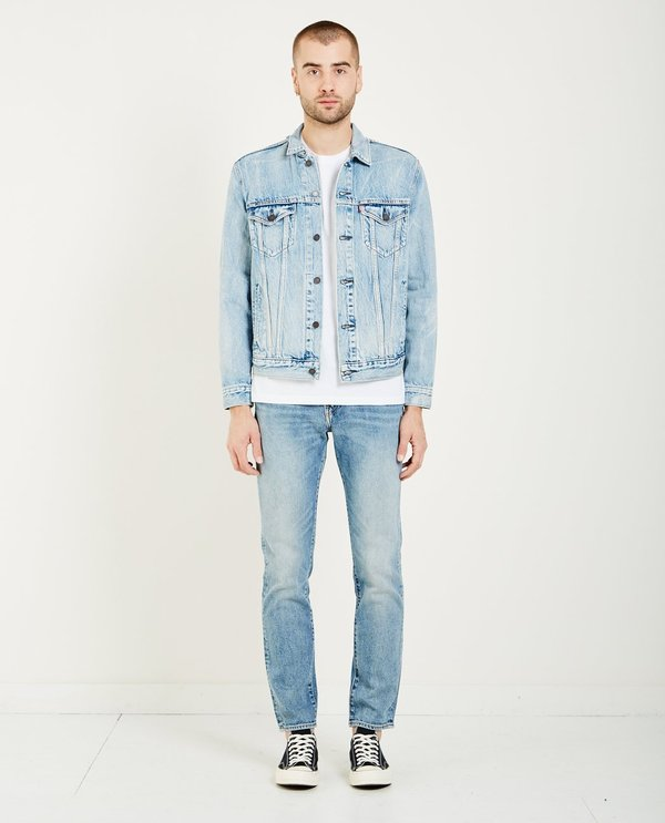 Levis Made & Crafted TYPE III TRUCKER JACKET - ROLLED UP DOLLAR