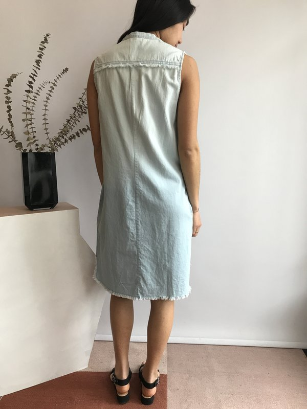 Melissa Nepton Vanessa Sleeveless Dress - Bleu