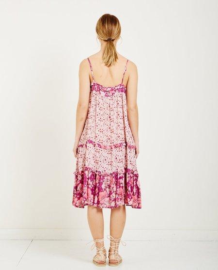 SPELL & THE GYPSY WINONA STRAPPY DRESS - BERRY
