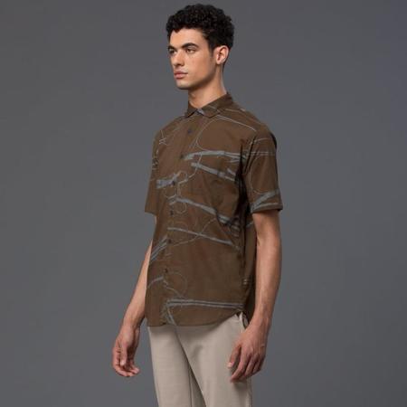 Ddugoff Arteries Print Short Sleeve Shirt