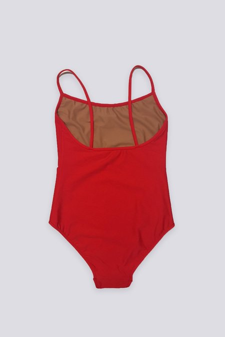 NU Swim Noodle One Piece Suit - Red