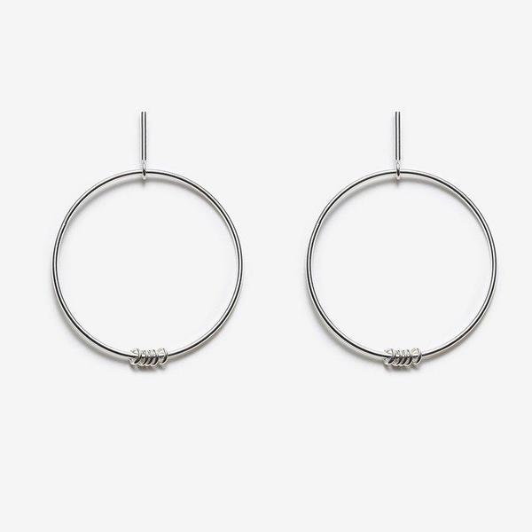 Pilar Agueci Boucles Ilidi Earring - Sterling Silver