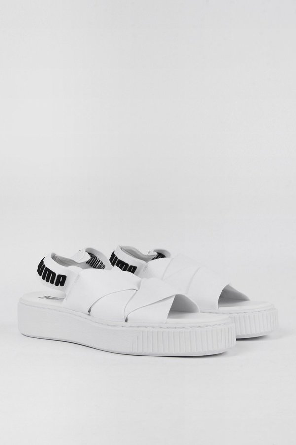 Puma Womens Platform Sandal - white