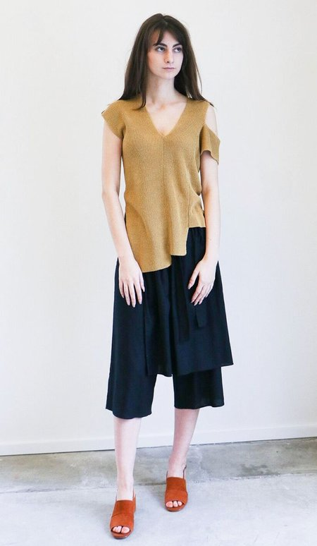 Correll Correll ItKnit Top - Yellow