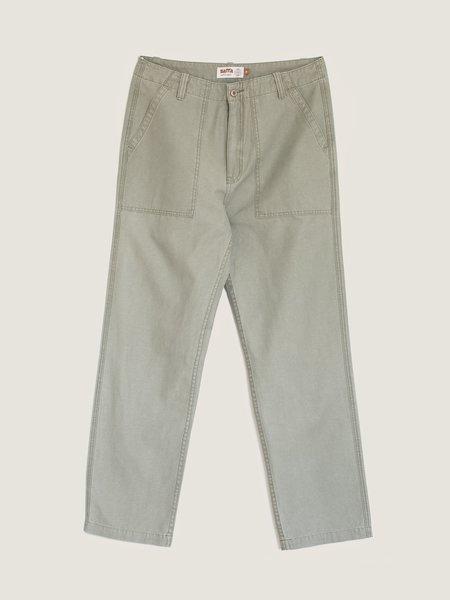 Unisex Satta Utility Pants - Dark Olive