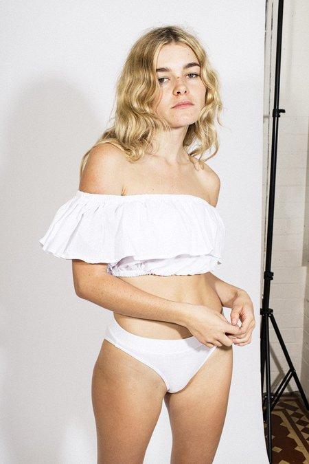 L'ecole Des Femmes Lolita Top – White