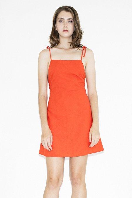 Rollas Tie Bridget Dress – Flame Red