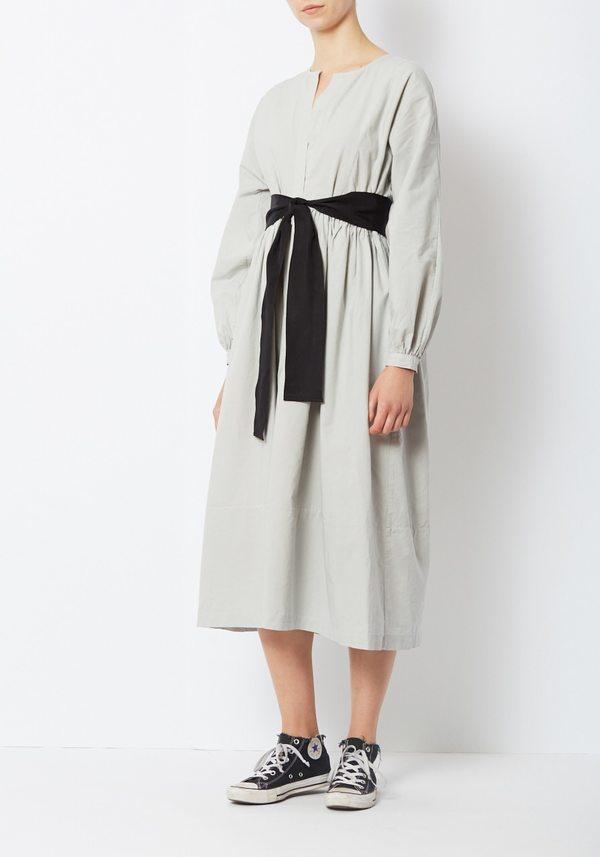 Kamperett Cornflower Cassat Dress - Grey