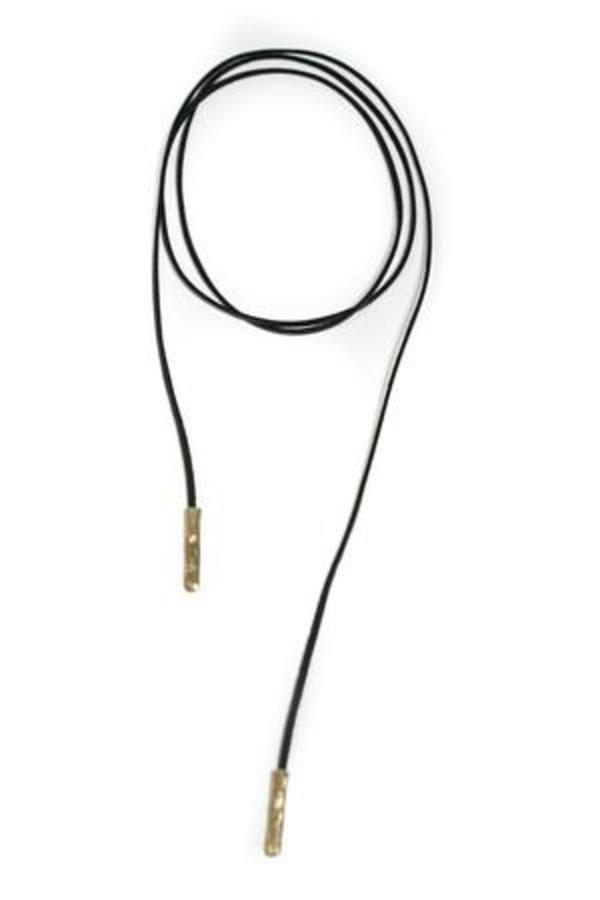 Luiny Leather Wrap Necklace