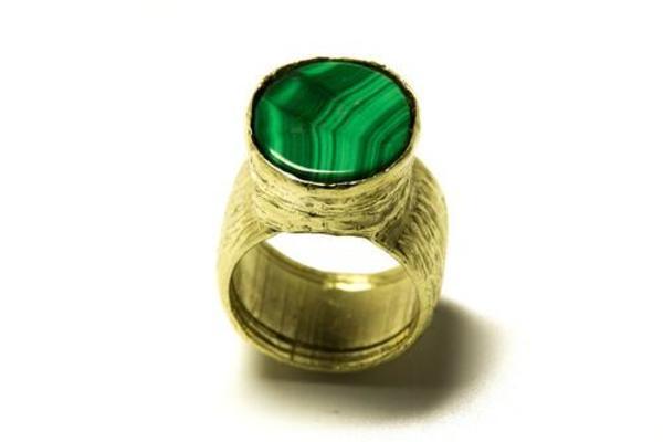 Luiny Malachite Ring