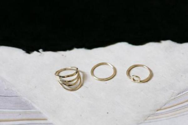 Luiny Sundown Ring Set