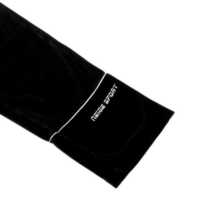 UNISEX Niege Velour Sweatpant - Black