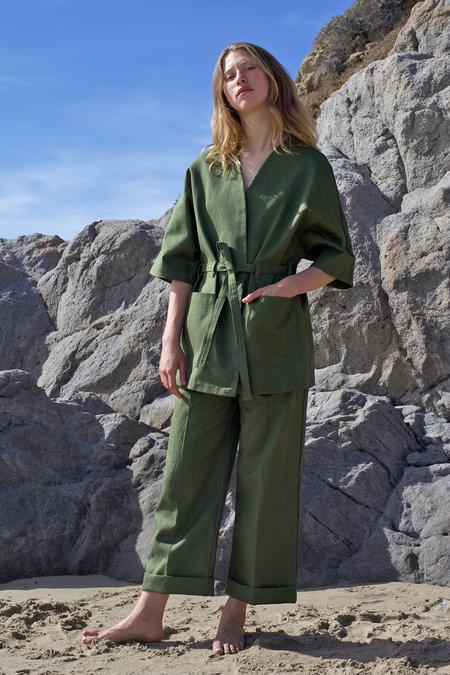 Ruth Jacket - Guerneville Green