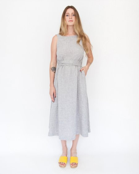 Esby CASEY DRESS - NICKEL