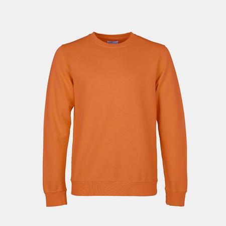 UNISEX Colorful Standard Classic Organic Crew Sweatshirt - Burned Orange