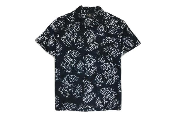 Stan Ray Pina Batik Kelapa Short Sleeve Shirt - Black