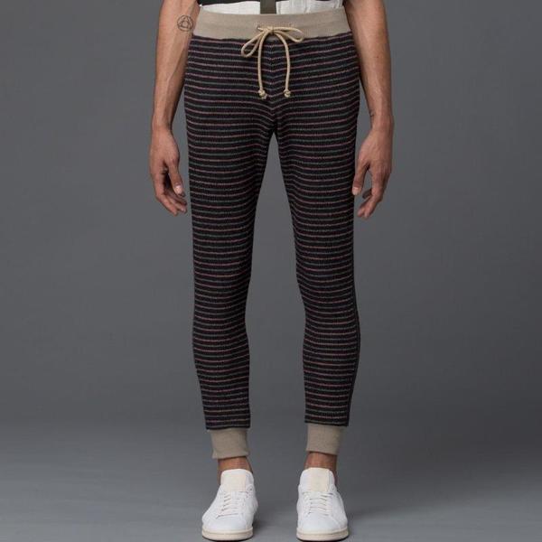 Thaddeus O'Neil Striped Pipe Pant
