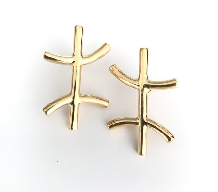 Muskoka Nord Pisces Earrings - Gold Plated