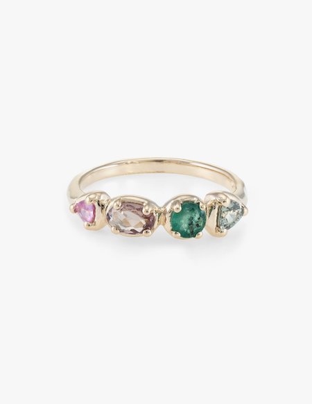Kathryn Bentley Triangle Quartet Ring