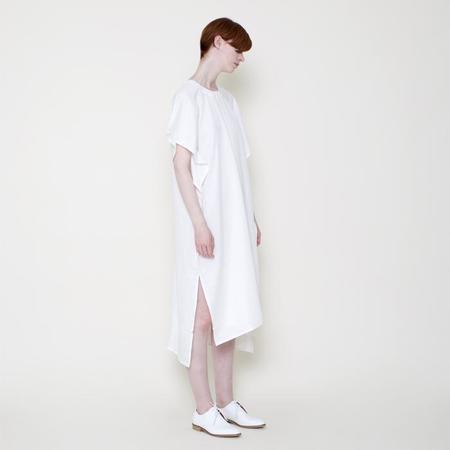 7115 Szeki 7115 by Szeki Swing Midi Dress - Off White