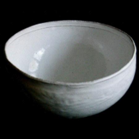 Astier de Villate Simple Medium Salad Bowl - White