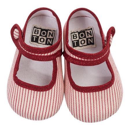 Kids Bonton Cotton Slippers - Ray Rouge