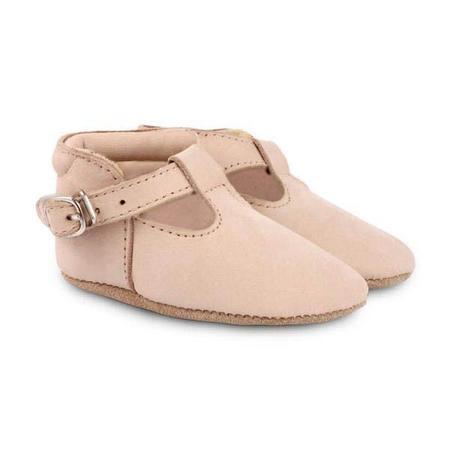Kids Donsje Elia Nubuk Shoes - Powder