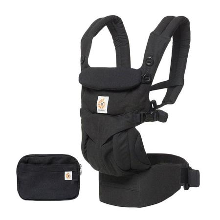 KIDS Ergobaby Omni 360 All-In-One Baby Carrier - Pure Black