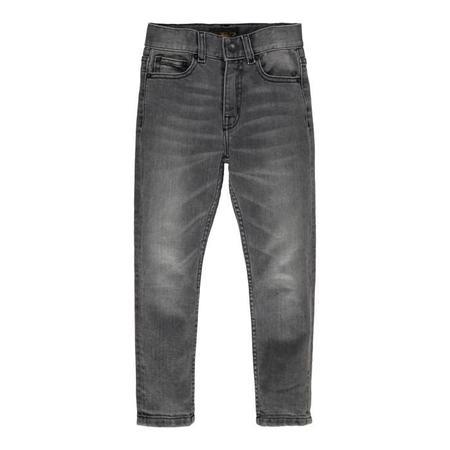 KIDS Finger in the Nose Ewan Woven 5 Pocket Comfort Fit Jeans - Grey Denim