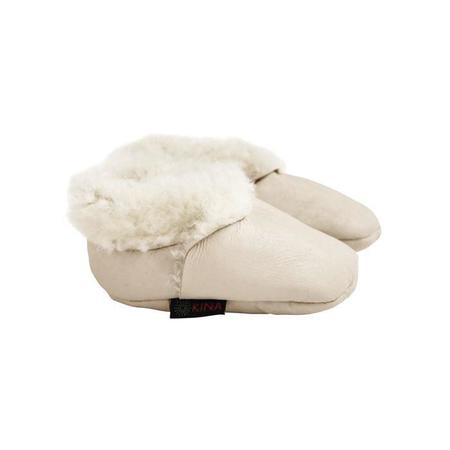 Kids Kina Booties Kina Shearling Baby Bootie - Cream