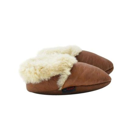 Kids Kina Booties Shearling Baby Bootie - Toffee