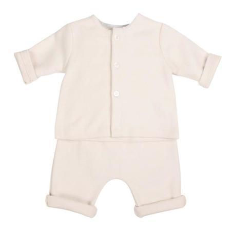 Kids Makié Flannel Pants - Cream