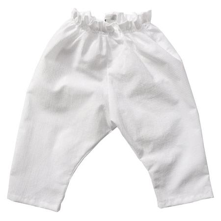 Kids Makié Michaela Pants - White Check