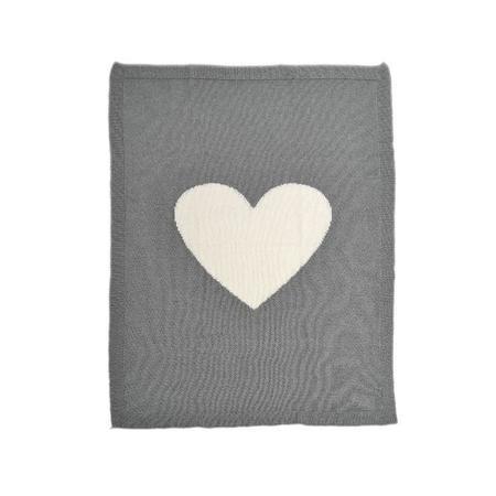 Kids Merben Cotton Baby Blanket - Grey