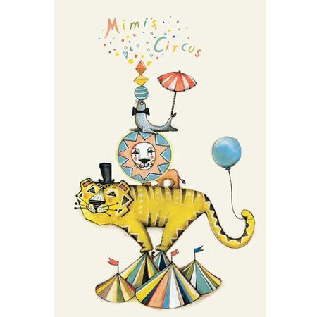 Kids Mimi's Circus Sofie Borsting Circus Poster