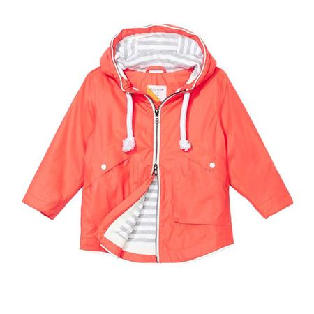 Kids Trout Rainwear Minnow Rain Jacket - Red