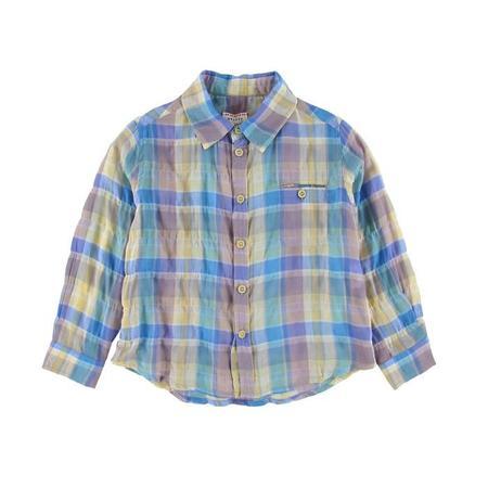 Kids Morley Ben Madras Shirt - Lila