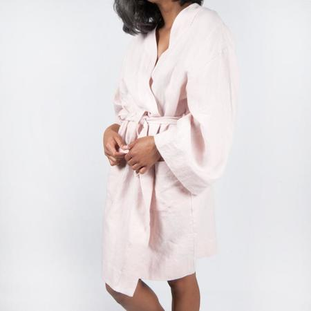 Moutmout Paris Linen Bathrobe - Nu