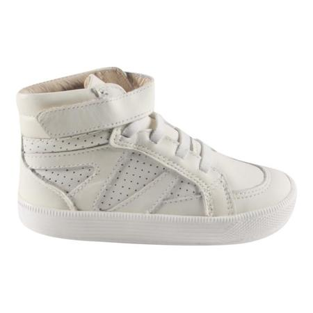 Kids Old Soles Star Jumper Shoe - White