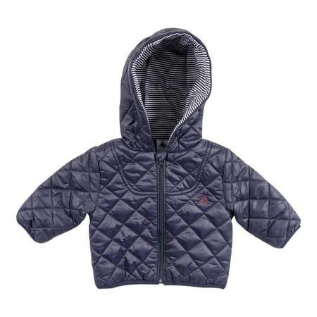 KIDS Petit Bateau Jacket with Zipper - Navy