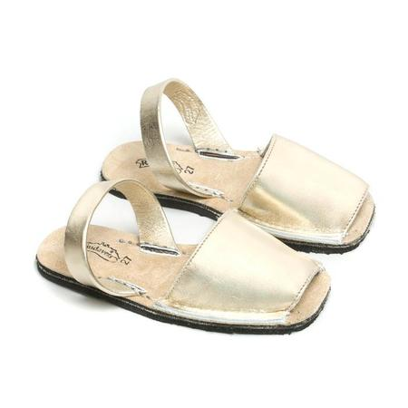 Kids Riudavets Rustic Sandals - Gold
