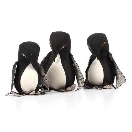 KIDS Tamar Mogendorff Penguin Family - BLACK
