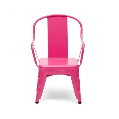 Kids Tolix Children's Chair - PINK