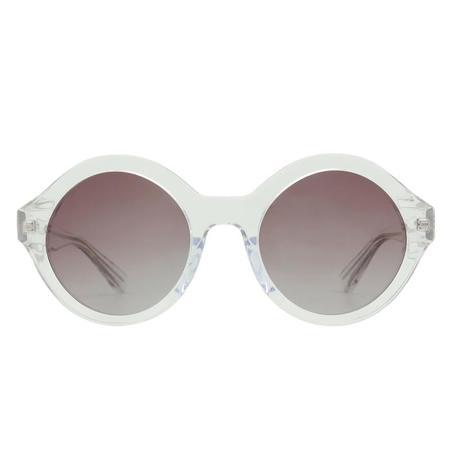 Winkniks Hazel Sunglasses - Clear Crystal/Lilac