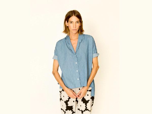 Ilana Kohn Darryl Chambray Shirt