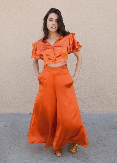 HKM Lady Jane Pant - Tangerine