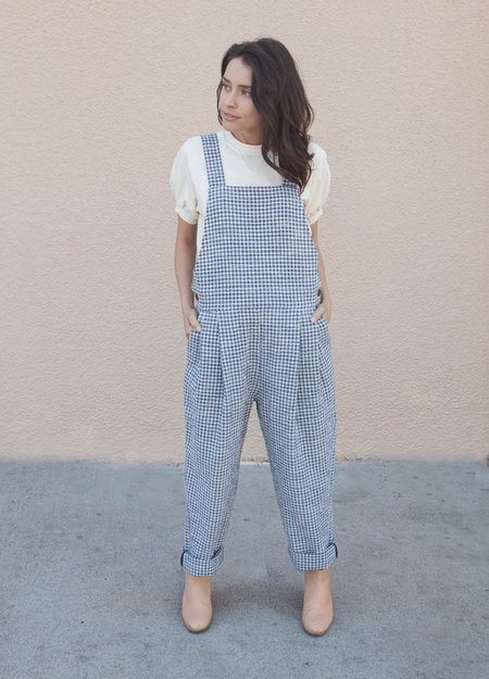 You Must Create Lily Jumpsuit - Gingham