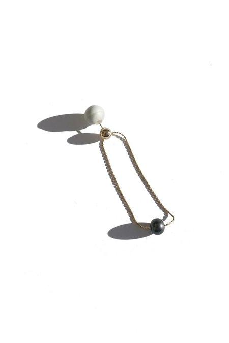 jujumade pearl orbit earring